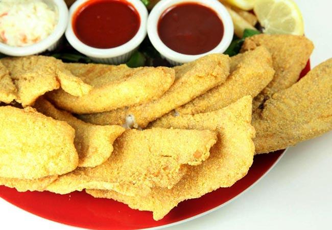 JJ Fish & Chicken - Tilapia Dinner